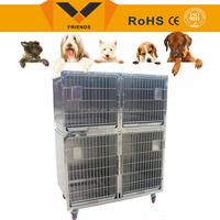 comfortable and foldaway custom large dog cage