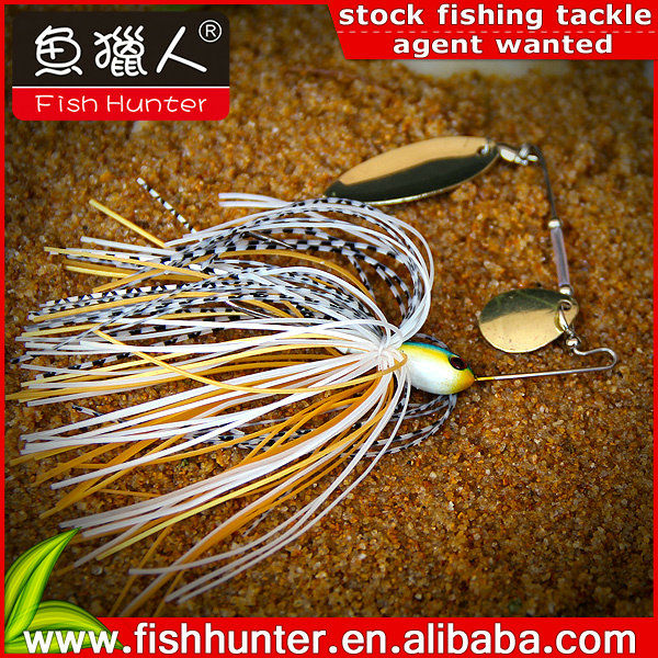 china hot sell Metal Lure Lead Fishing Spinner Bait
