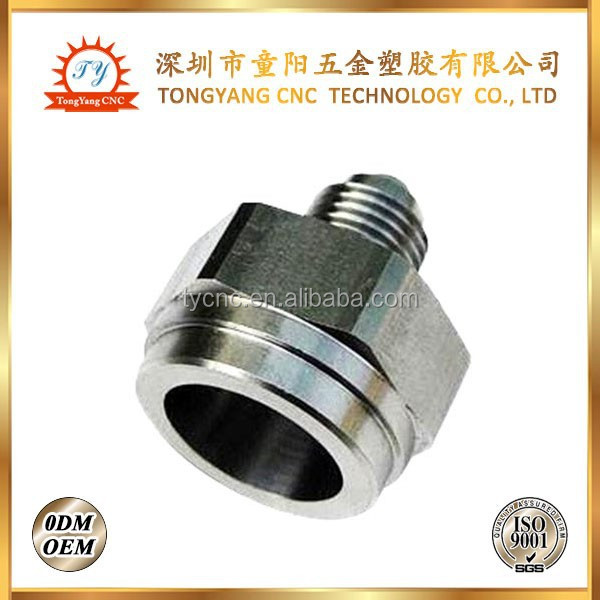 aluminum cnc milling parts used in lighting system