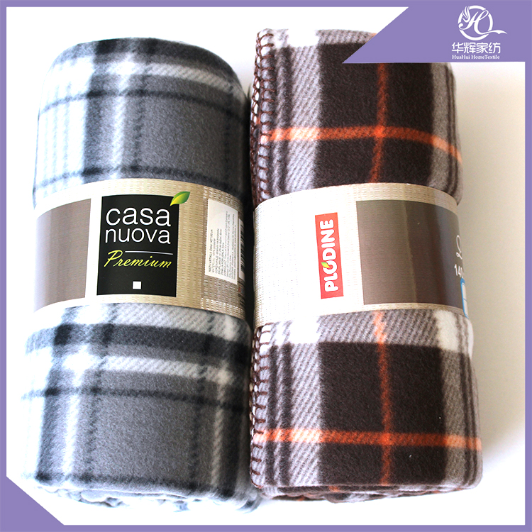 Chinese Products Wholesale super soft blanket plaid fleece blanket baby swaddle blanket