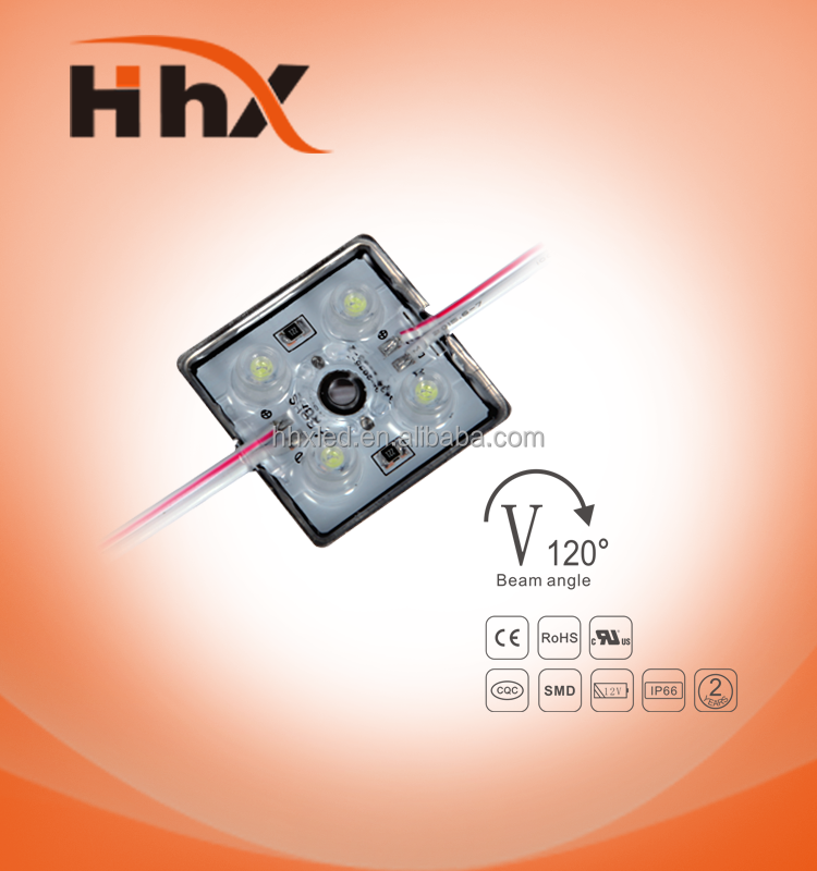 good price hhx 12v 4 chips led round smd2835 pixel module light waterproof