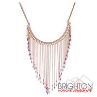 Fashion Long Gold Designs Necklaces Chain Necklace N1-57213-6200