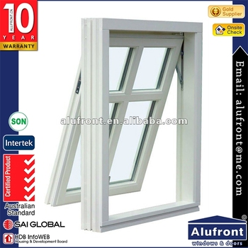 Canada stanard fire prevention economical retractable screen aluminum frame awning window