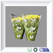 colorful flower plastic wrap for flower bouquets packaging