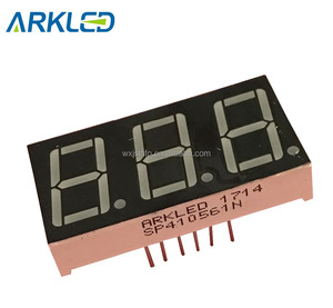0.56 inch Triple Digits 7 segment LED Display with amber color