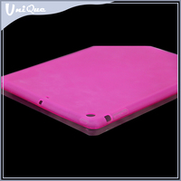 Wholesale unbreakable clear phone case for ipad air cover ,silicone case cover for 9.7 tablet