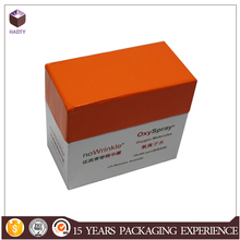 With inserts cosmetic packaging box
