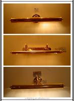 Antique brass mirror lamp wall mounted lighting