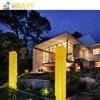 Beautify for your house,garden, party event use 16 RGB lightings changing LED square column lamp