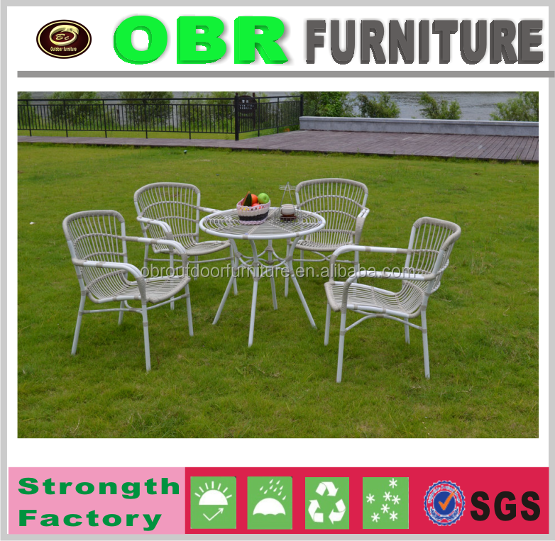 2016 Hot Sale Garden Furniture 5pcs Dining Table and Chair Set