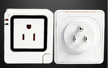 Brand new wifi power socket wifi light socket adapter wifi wall socket with high quality