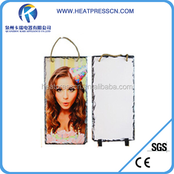 Sublimation Hanging rectangle photo frame