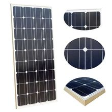 Low price portable mono 24v solar panel 100 watts from China