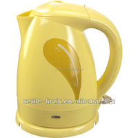 1.8L New Design electric kettles color,yellow electric kettle,factory water boiler