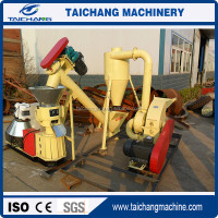 China CE 100kg/hour flat die household coal dust pellet machine