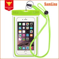 Hot New Products Waterproof Cell Phone Cases Mobile Phone PVC Carry Dry Bag for Promotional Gift
