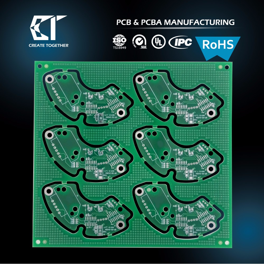 Taiwan Supplier ru 94v0 mobile phone pcb printed circuit board