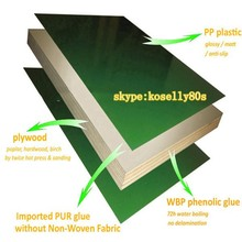 concrete moulds PP plywood sheets/plastic coated plywood/plastic faced plywood for construction