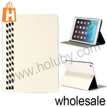 Foldable Stand Football Texture Flip Leather Case for iPad Air with Card Slots