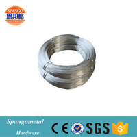High carbon steel wire rope hot dipped galvanized spring steel wire with low price
