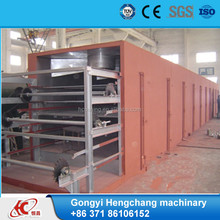 widely used charcoal/coal /graphite briquette dryer equipment