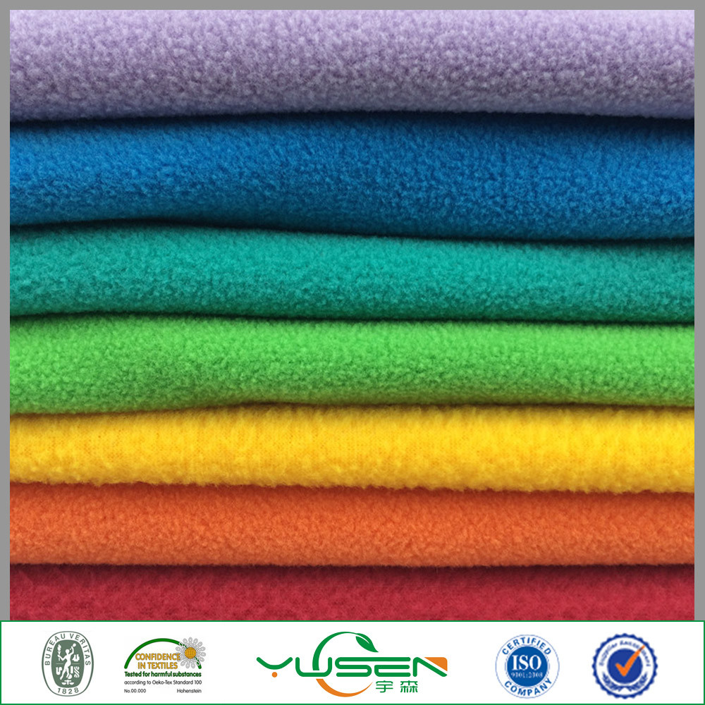 Wholesale Antistatic Polar Fleece Fabric for Arm Wear