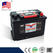 low price 12v 75ah cheap car battery
