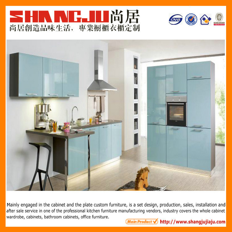 China Factory PVC MDF Modular Kitchen Cabinet Simple Designs