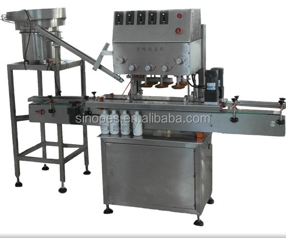 Automatic Liner Screw Capping Machine