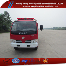 China Supplier New Diesel Emergency Rescue 2t Mini Water Tanker Truck For Fire Fighting