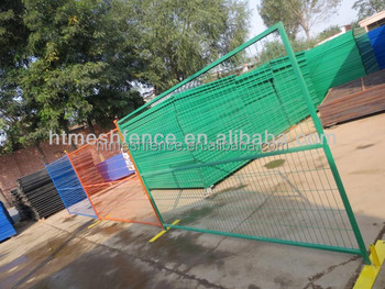 High Visibility Safety Fence Panel Orange Safety Barrier Fence