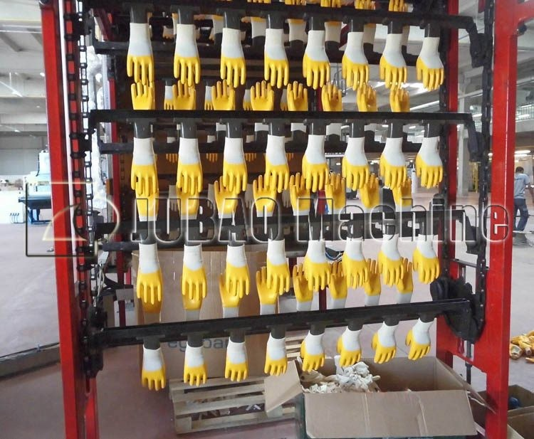 glove dipping machine JB-SUD latex/NBR/PVC cotton glove half dipping production line
