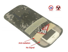 New arrival Cell Phone Signal Blocker/Signal Shield Pouch Bag With Anti-Degaussing & Anti-Radiation Function