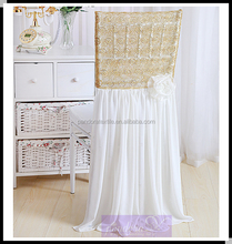 Romantic Chair Covers Wedding Decorations
