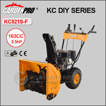 Walking-behind Snow cleaning machine, 6.5hp