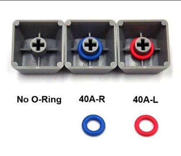 Wholesale 125 pcs Cherry MX keyboard keycap dampeners 50A 0.4mm reduction <strong>silicone</strong> o ring