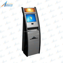 OEM 17''19'' Automatic self service ordering payment kiosk machine/bill payment kiosk/Card Reader cash