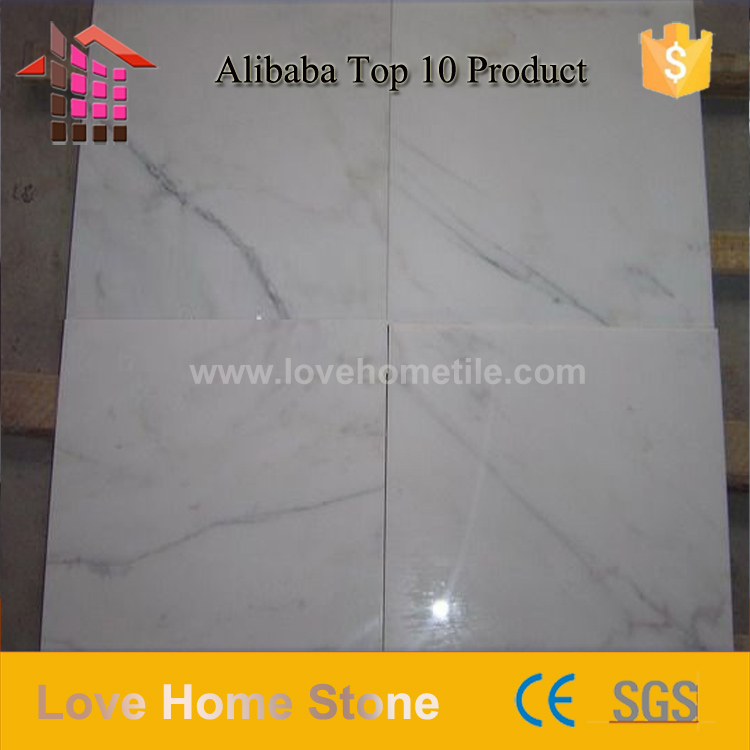Cheap marble tile cheap low price for guangxi white marble natrual marble for interior floor