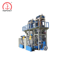 High performance PP / PE plastic split film rope extruder production machine