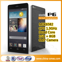 OMES ultra thin 5.0 inch HD display 5mp+8mphero h2000