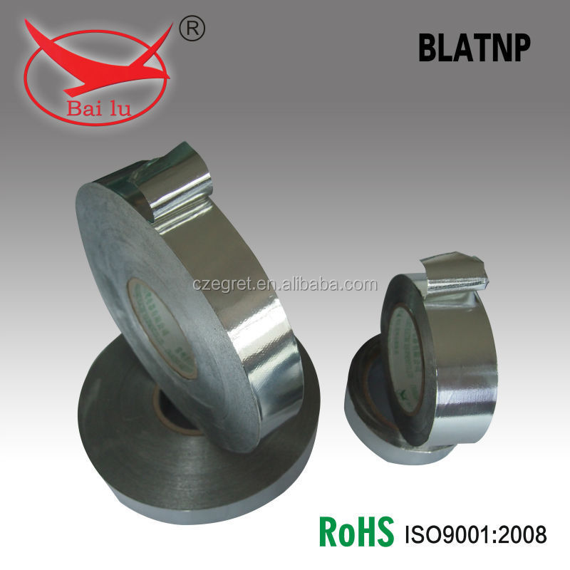 BAILU good quality and low price reinforced aluminum foil tape for regrigeration systems