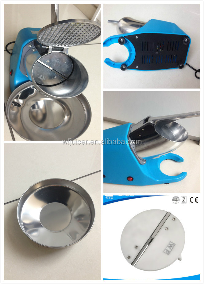 double blades snow cone ice crusher ice crusher