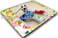 Hot selling!tennis ball/shoe keychain