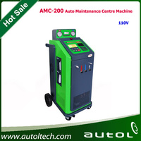 AMC-200 Automatic / Manual drain the used oil Function Quantitative recharge Air Condition Machine