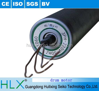Drive conveyor roller with motor
