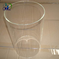 High Borosilicate Glass Tube Heat Resistant