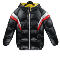 2019 Customized New Styles Boy's Cotton Padded Jacket with Hoodies Boys Winter Clothing