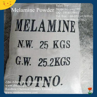 chemical industry high quality zibo raw material 99.8% min price melamine powder in amine