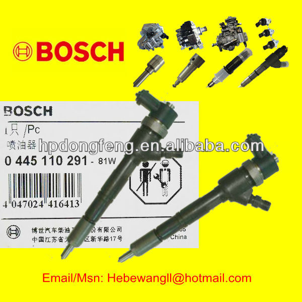 Diesel engine parts Injector 0445110291