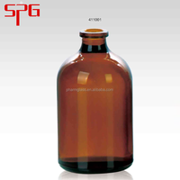 2016 high quality 100ml bottle of syrup , amber glass bottle , european glass bottles